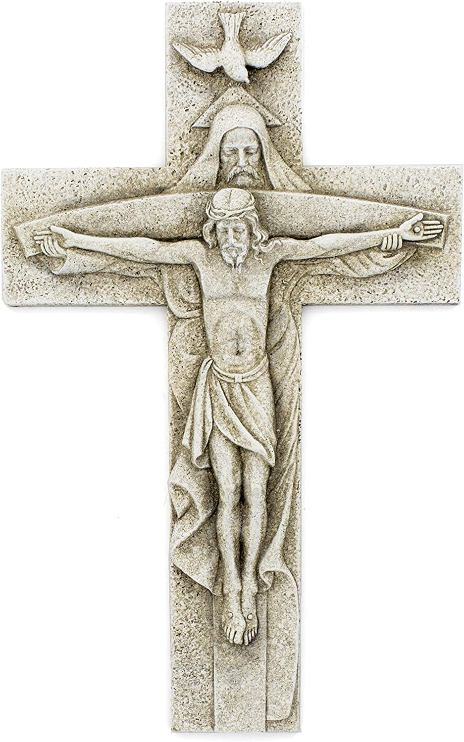 Elysian Gift Shop Holy Trinity Garden Cross Father Son and Holy Spirit 12
