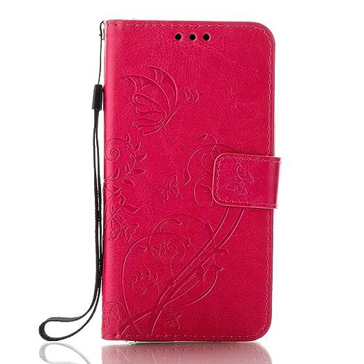 Unisnug Pochette Protection Galaxy A5 2017 Coque Clapte Housse Portefeuille  pour 2017 Samsung Galaxie A5 Etui Rabat Coque Telephone Samsung A5 2017  Cuir ... 97982034dfe