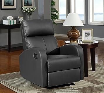 Sillon Relax Reclinable Color Negro Due Home Amazon Es Hogar