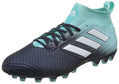 adidas Ace 17.3 AG, Chaussures de Football Homme, Bleu (Energy Aqua/Footwear White/Legend Ink), 47 1/3 EU