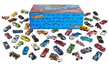 hot wheels v6697 vhicule miniature pack de 50 voitures modle alatoire