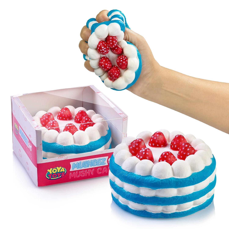 Amazon Stress Relief Squishy Cake By YoYa Toys Strawberry