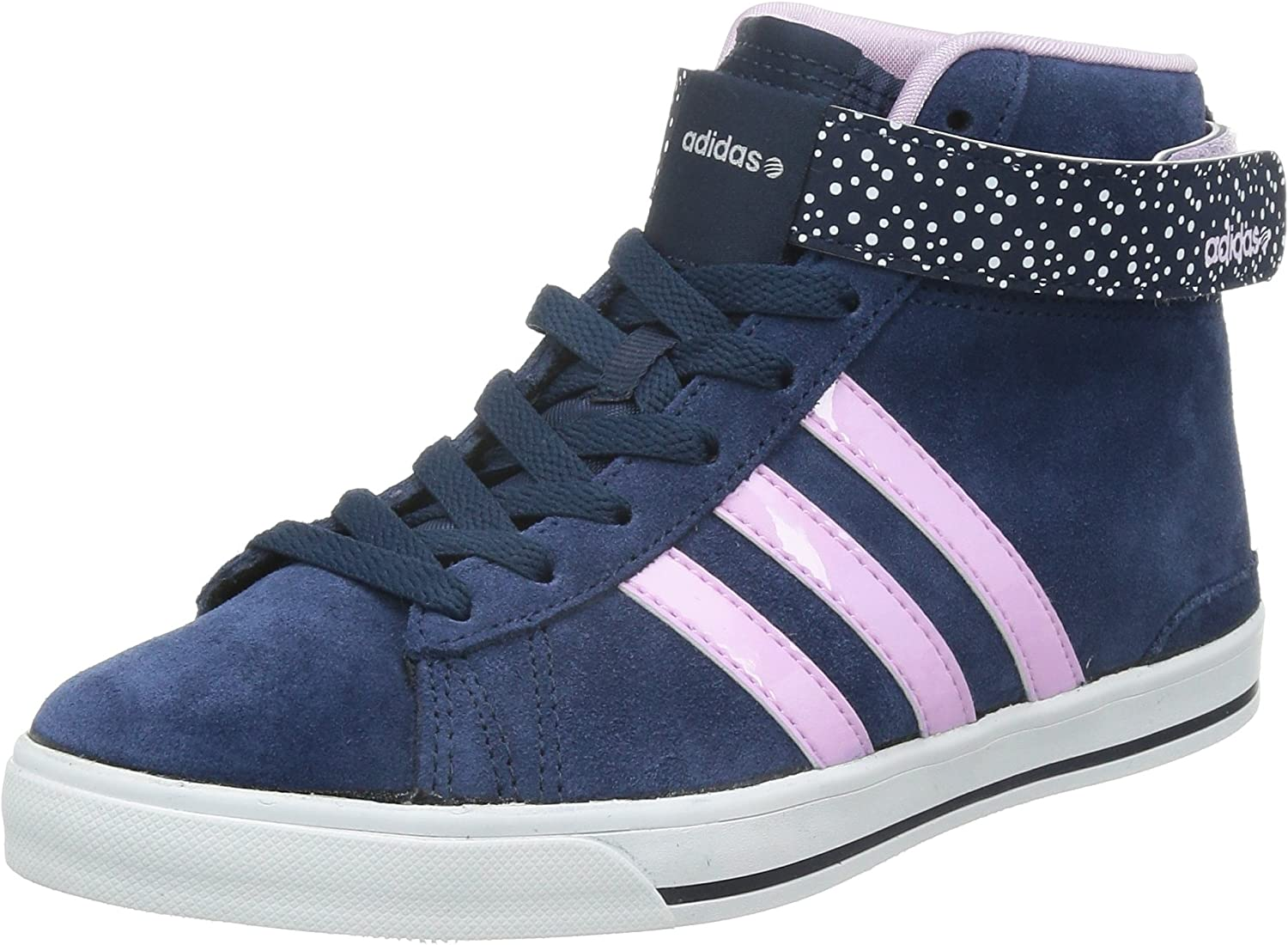 adidas Womens Neo Daily Twist Mid Trainers in Navy