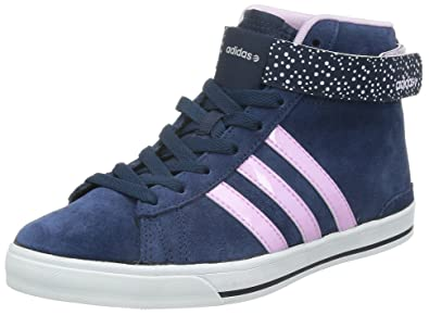adidas Womens Womens Daily Twist Mid Trainers in Navy - UK 3.5