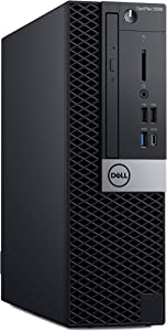 Dell OP5060SFFRDR97 OptiPlex 5060 SFF Desktop Computer with Intel Core i5-8500 3 GHz Hexa-core, 8GB RAM, 500GB HDD (Renewed)