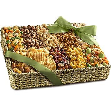 Amazon.com : Best Savory Snacks Gift Basket : Gourmet Gift Items ...