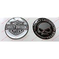 Adhesivos resinados con el emblema/logotipo de Harley Davidson