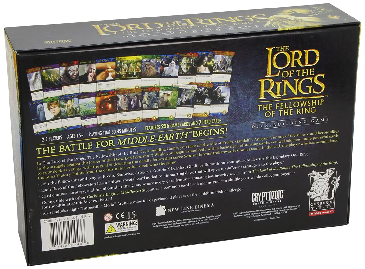Lord of the Rings: Fellowship of the Ring Deck Building Game ...