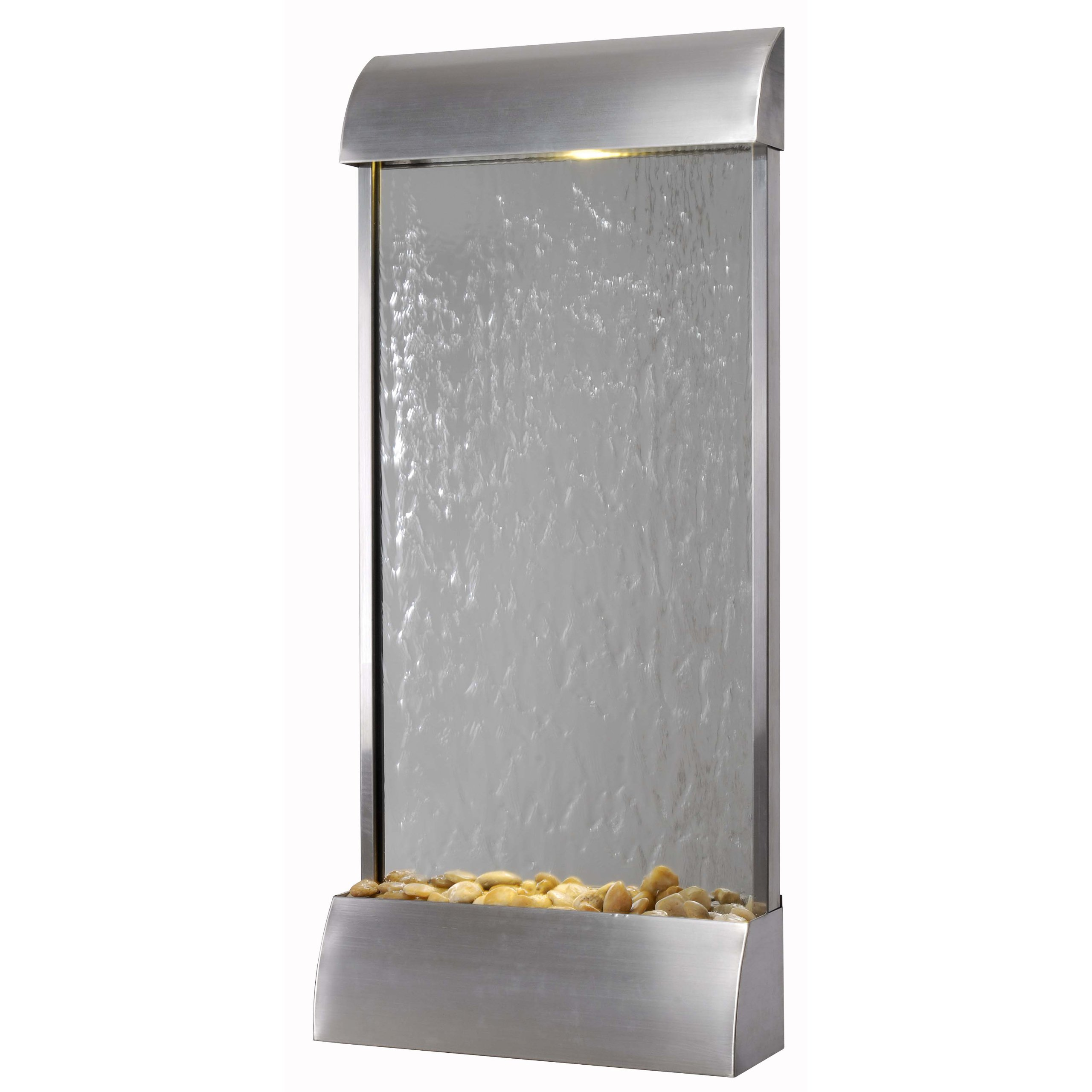 Kenroy Home 50053STST Waterville Floor/Wall Fountain, Stainless Steel Finish by Kenroy Home