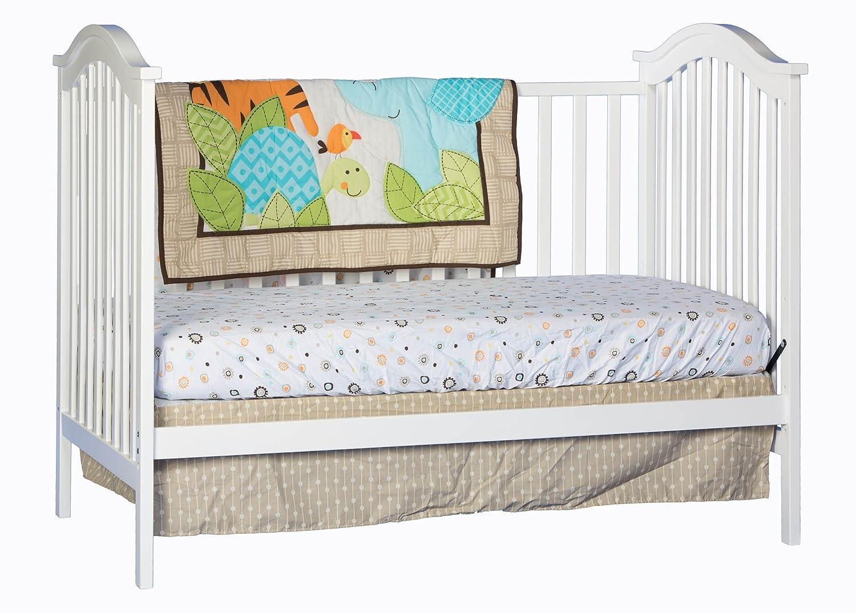 Stork craft crib reviews - Amazon Com Stork Craft Hampton Fixed Side Convertible Crib White Baby