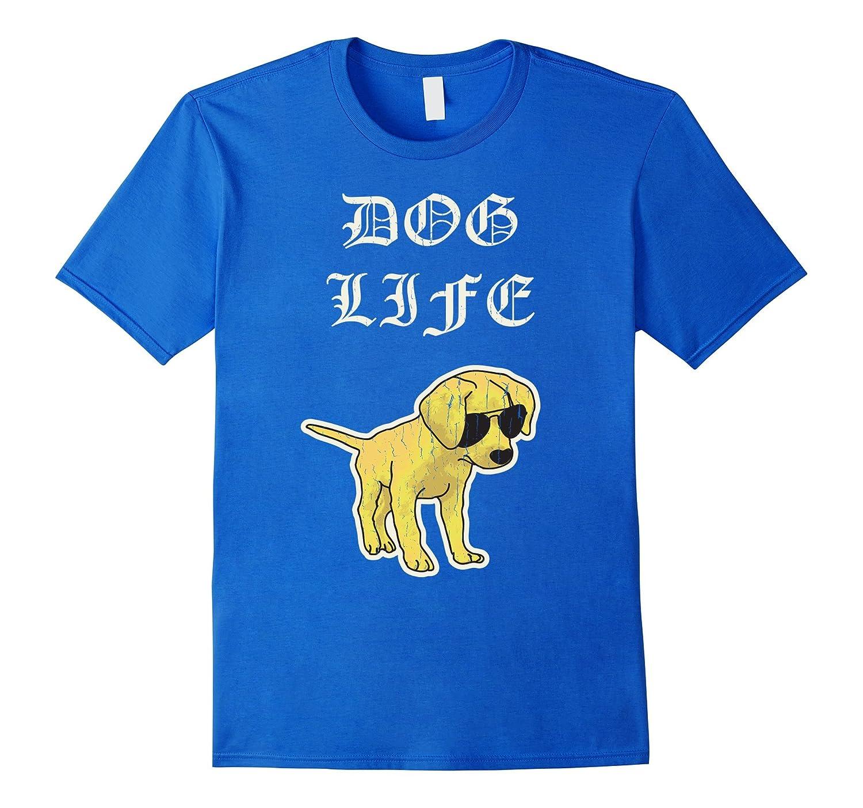"""Dog Life"" Funny Thug Puppy T-Shirt"