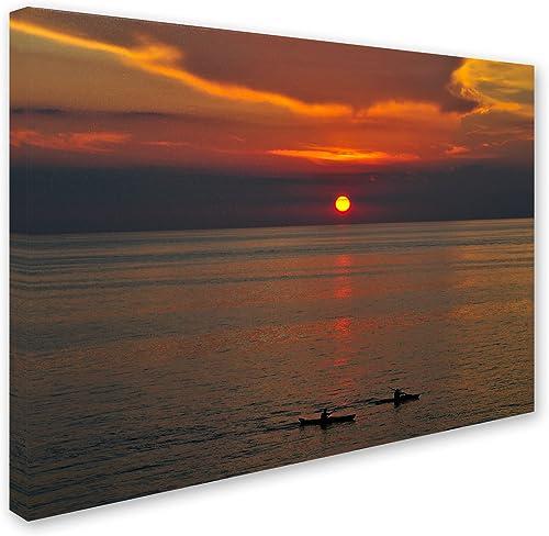 """Sunset Paddle"" Artwork"