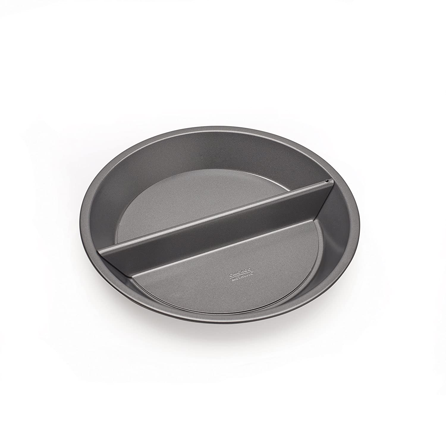 Chicago Metallic 26719 9-Inch Non-Stick Split Decision Pie Pan
