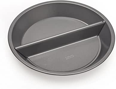 Chicago Metallic Professional Non-Stick Split Decision Pie Pan, 9-Inch - 26719