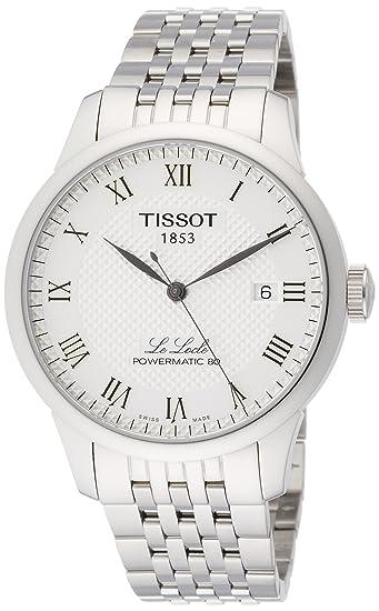 Tissot Reloj Analógico para Hombre de Cuarzo con Correa en Acero Inoxidable T0064071103300