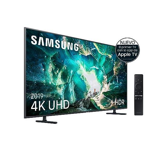 Samsung 4K UHD 2019 55RU8005 Smart TV de 55 con Resolución 4K UHD Wide Viewing Angle HDR HDR10 Procesador 4K One Remote Control Apps en Exclusiva y Compatible con Alexa