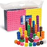 Learning Resources MathLink Cubes, Educational Counting Toy, Math Cubes, Patterning Activities, Set of 1000 Cubes…