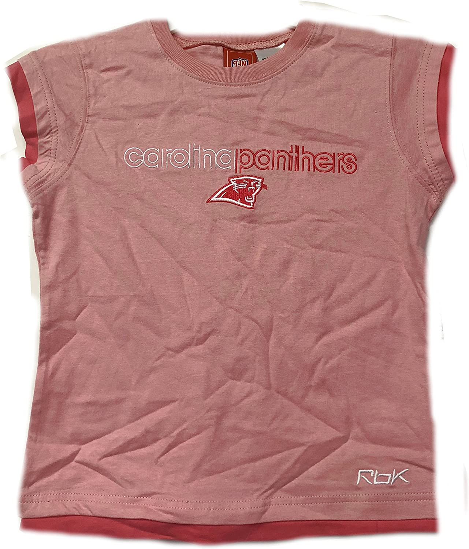 Carolina Panthers Pink NFL Youth Girls