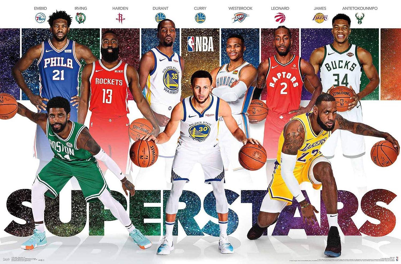 Trends International NBA League-Superstars - Póster de Pared ...