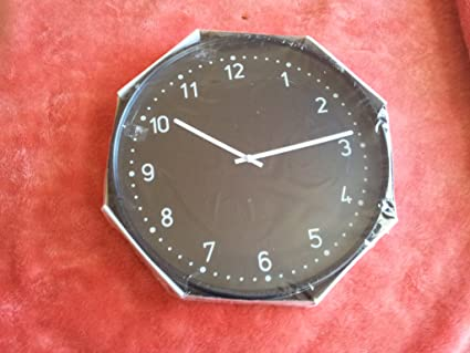 IKEA - Reloj de pared bondestá, negro
