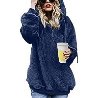 UMIPUBO Mujer Sudadera Caliente y Esponjoso Caliente Sudadera con Capucha Chaqueta Suéter Abrigo Jersey Otoño-Invierno…