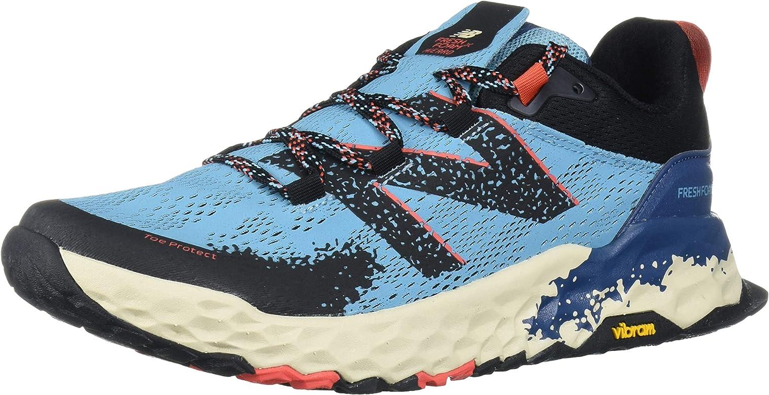 New Balance Hierro V5 Fresh Foam - Zapatillas de Trail para Mujer, Color Negro, Color Azul, Talla 37.5 EU: Amazon.es: Zapatos y complementos