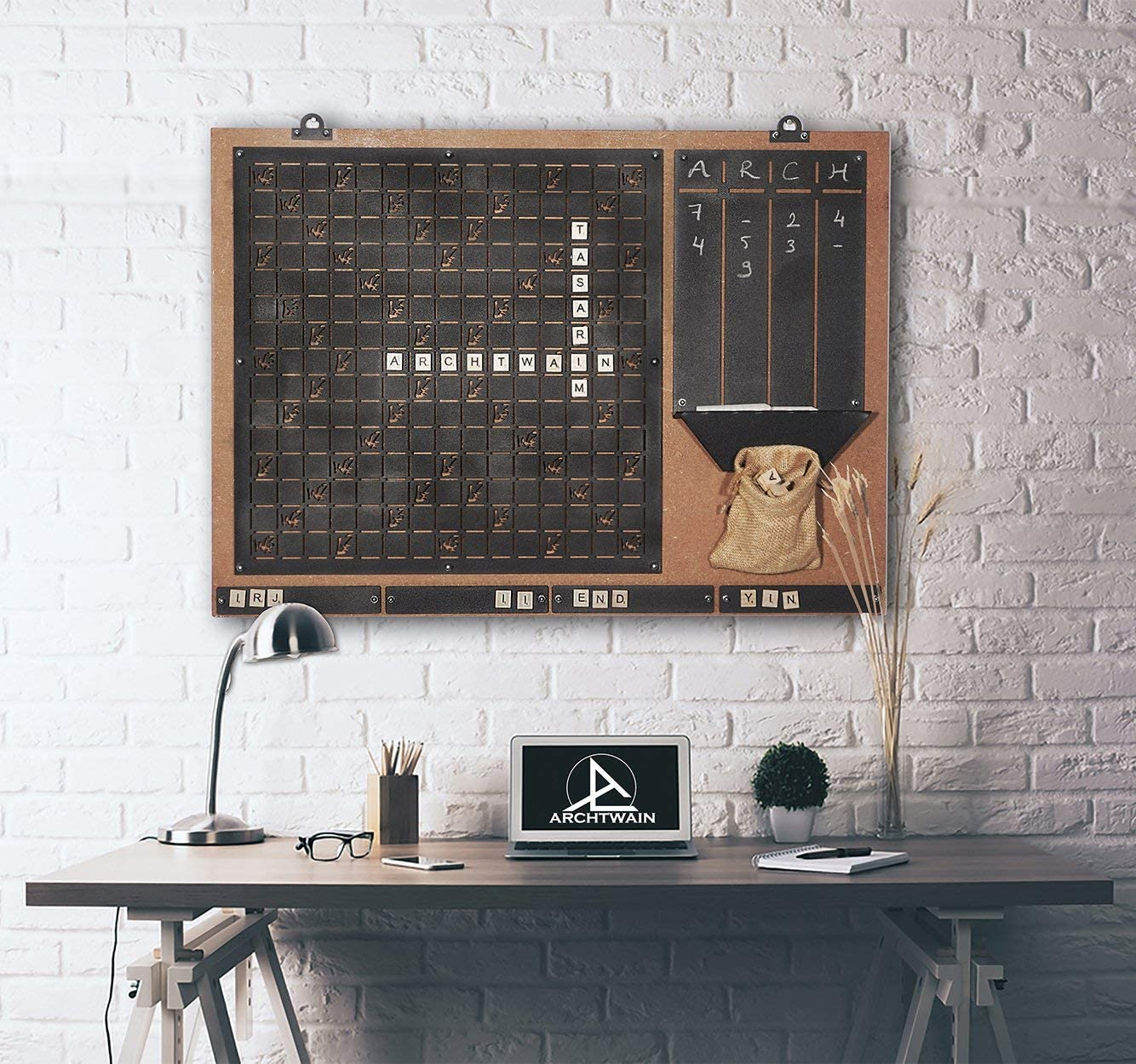 Wall Decor, Convenient to Play Scrabble, Message Board