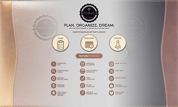 Amazon.com: Planificador privado: planificador diario ...