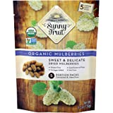 Sunny Fruit Organic Mulberries , 150g , (Pack of 5)
