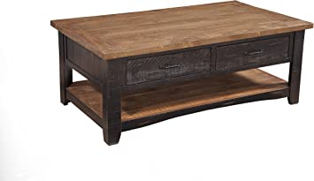 Amazon Com Martin Svensson Home Rustic Coffee Table Antique