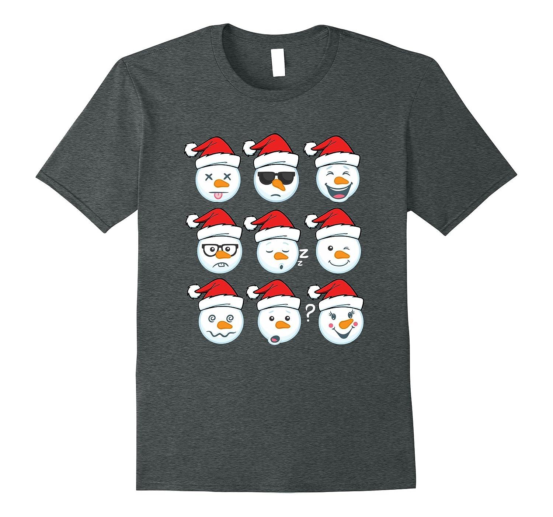 Womens Christmas Snowman Medium Cranberry-Teeae