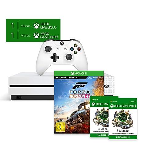 Xbox One S 1TB Forza Horizon 4 Bundle + Xbox Game Pass 6 Monate