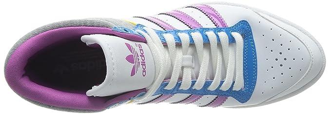 new concept 37920 fb37f Adidas Originals Top Ten Hi Sleek W - Zapatillas, blanco - Weiß (RUNNING  WHITE FTW   JOY ORCHID S13   TRIBE YELLOW S14), 36.6666666667  Amazon.es   Zapatos y ...