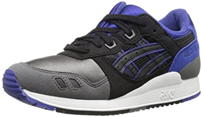 ASICS Tiger Gel Lyte III GS Retro Running Shoe (Big Kid), Black/