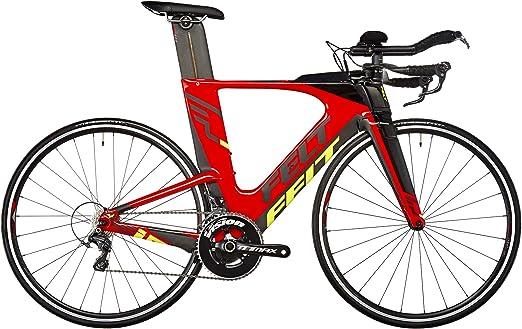 Felt IA4 - Bicicletas triatlón - rojo/negro Tamaño del cuadro 54 ...