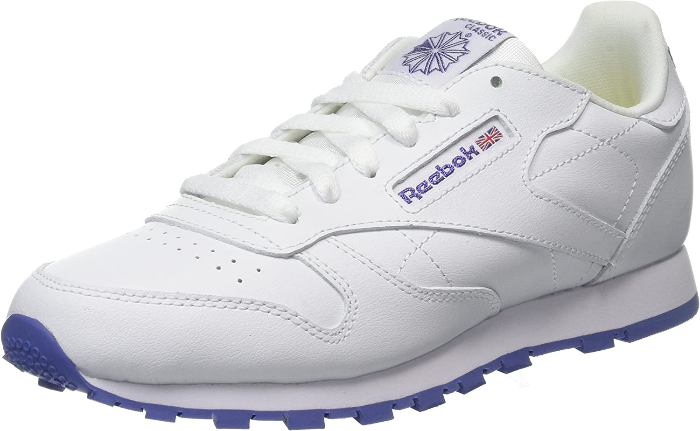 Reebok Classic Leather, Zapatillas de Running para Niñas, Blanco ...