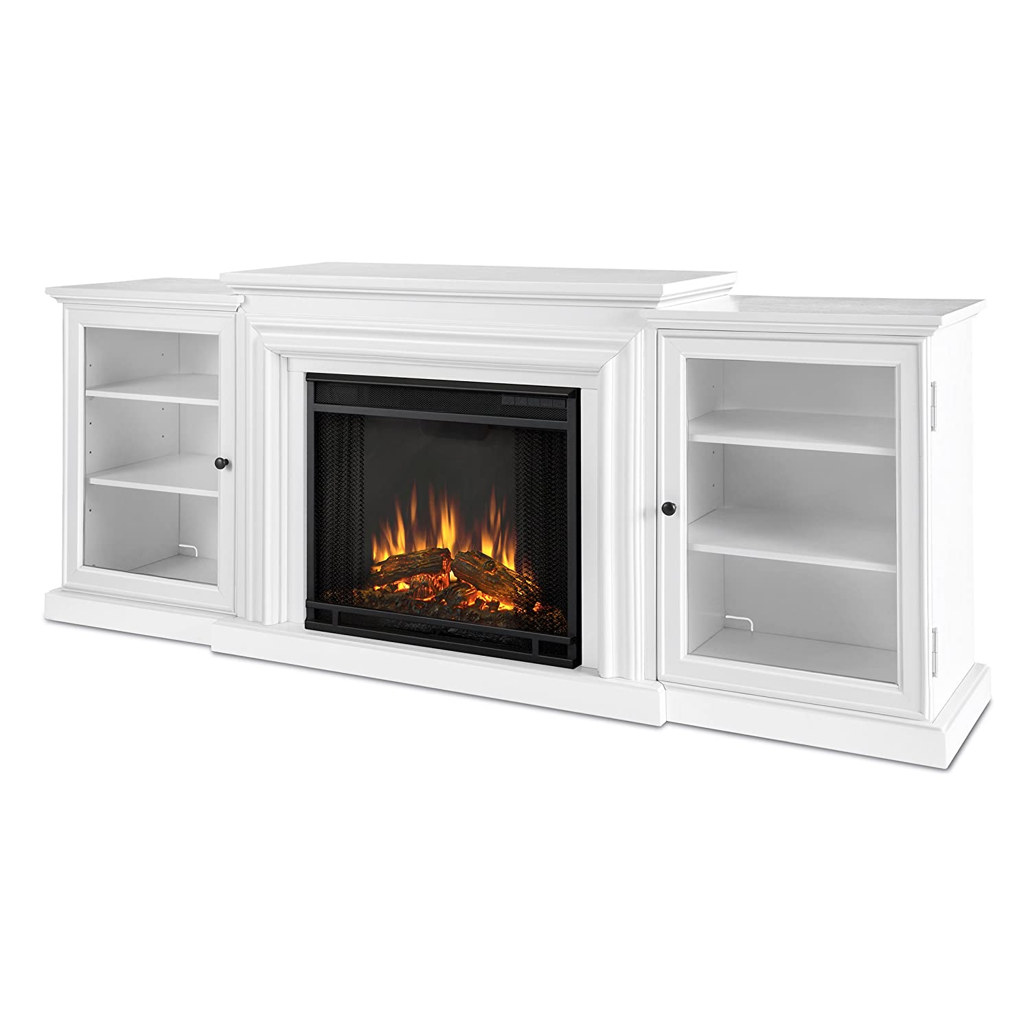 amazon com real flame 7740e frederick entertainment center with