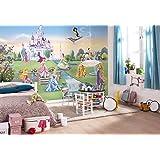 """Komar Papier peint Disney Princess Castle """"368x254 cm"""