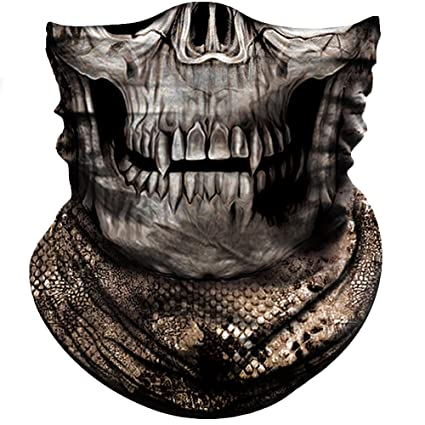 e90c17dec4c93 Amazon.com : Obacle Half Face Mask for Hunting Fishing Motorcycle ...