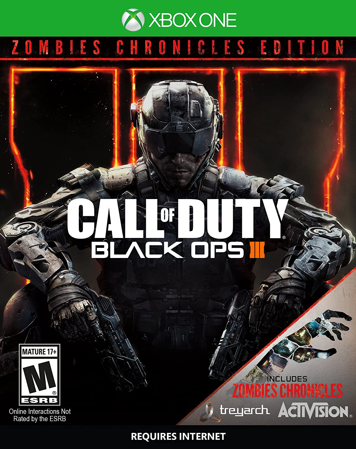 Amazon Com Call Of Duty Black Ops Iii Zombie Chronicles Xbox One Activision Inc Video Games