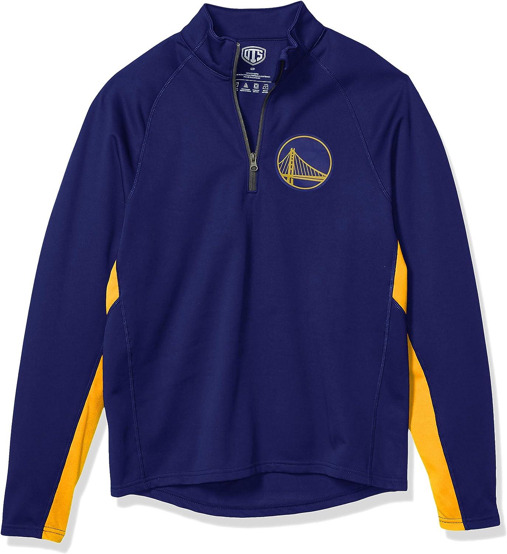 NBA Mens OTS Fleece 1//4-Zip Pullover