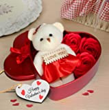 Valentine's gift for Girlfriend Boyfriend Husband Wife Special Gift Pack (Heart Shape)