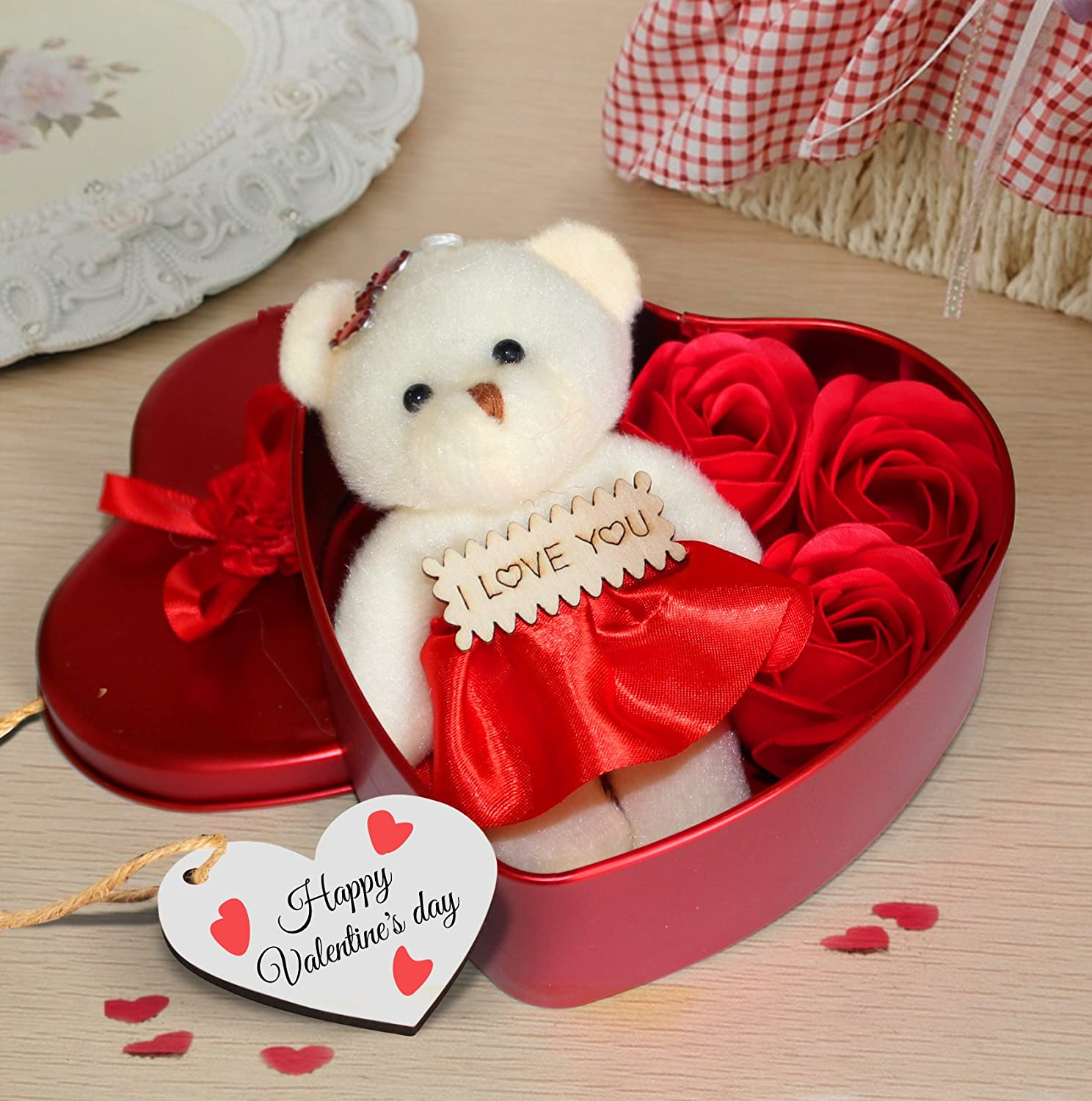 Buy atnep surprise box pop up heart with music i love you when valentines gift for girlfriend boyfriend husband wife special gift pack heart shape negle Gallery