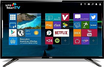 """NPG S400DL32F - TV D-LED 32"""" HD TV 1080p Smart TV Android: Amazon.es: Electrónica"""
