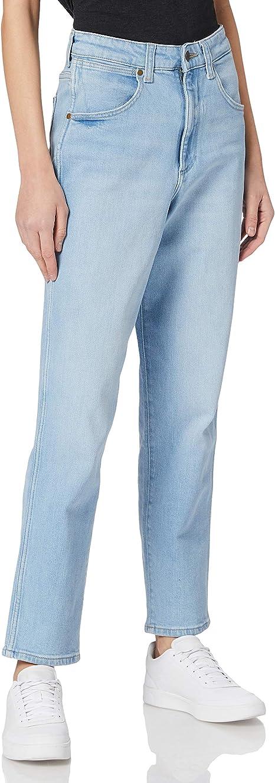 Wrangler Mom Jeans Straight Donna
