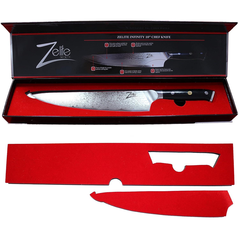 amazon com zelite infinity chef knife 10 inch u003e u003e alpha royal