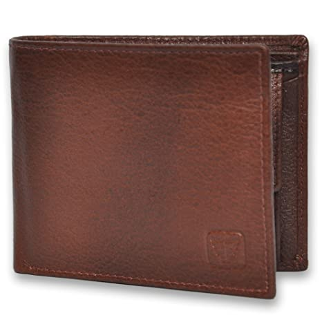 6fc15d6b1cb1 Fashion Freak Genuine Leather Bi Fold Men s Wallet Brown  Amazon.in  Bags