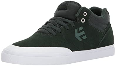 Etnies Mens Marana Vulc MT Skate Shoe GreenWhite 7 Medium US