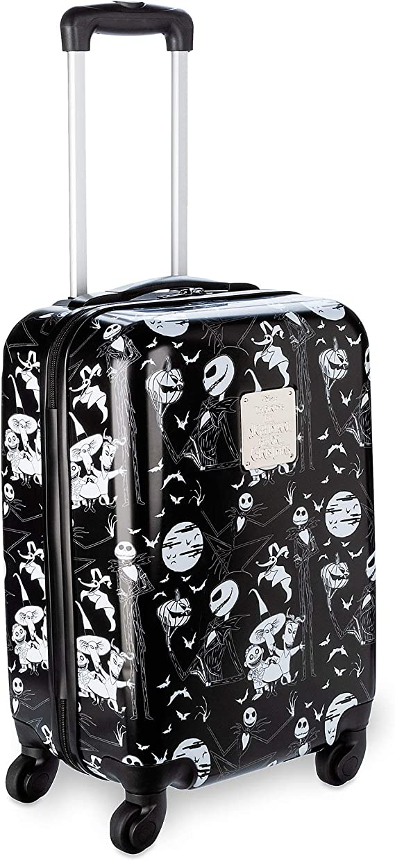 Disney The Nightmare Before Christmas Rolling Luggage Small Black