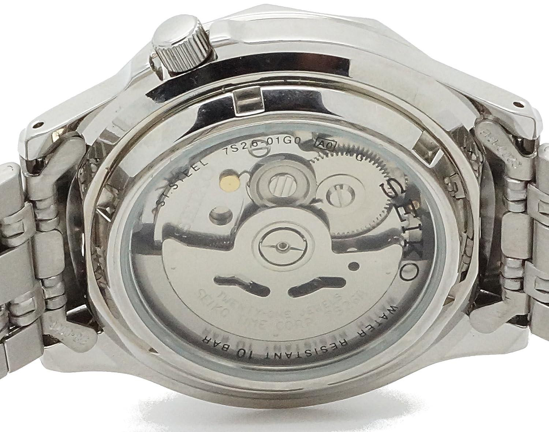 Seiko Reloj Analogico para Hombre de Automático con Correa en Acero Inoxidable SNXS79: Amazon.es: Relojes